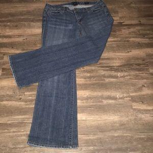 Seven7 Flare Jeans~Plus sz 32~EUC~